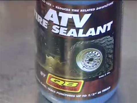 atv television product review quadboss tire sealant