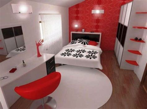20 Striking Red, Black, And White Bedroom Ideas