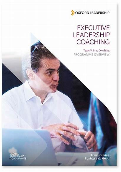Coaching Executive Brochure Leadership Programme Leaders Oxford