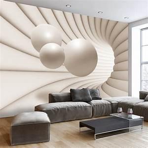3d Tapete Schlafzimmer : vlies fototapete 3 farben zur auswahl tapeten abstrakt ~ Lizthompson.info Haus und Dekorationen