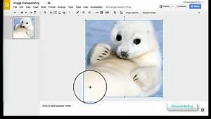 Google Slides Creating Transparent Background