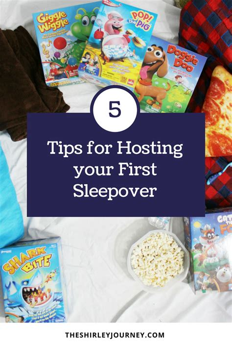 Tips For Hosting Your First Sleepover  The Shirley Journey