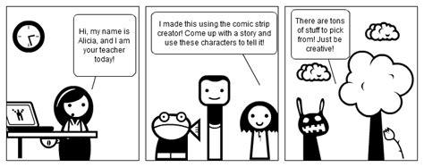 Comic Creations In Class