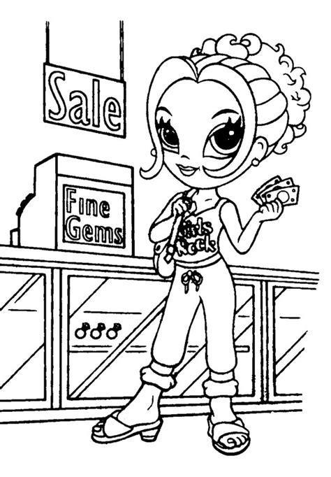 printable lisa frank coloring pages  kids