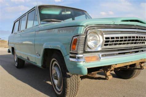 buy   jeep wagoneer  original miles  buick