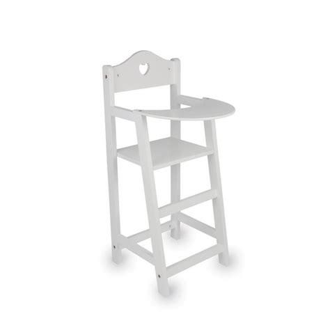 chaise haute poupée chaise haute pour poupées