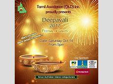 Tamil Association of Qld Inc proudly presents Deepavali