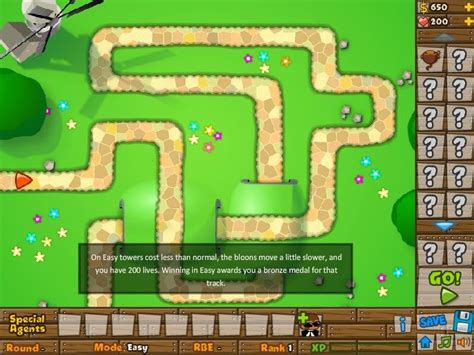 bloons tower defence battles unblocked games