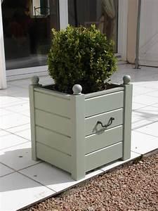 Cache Pot Bois : cache pots en bois de palette recyclage et cie ~ Teatrodelosmanantiales.com Idées de Décoration