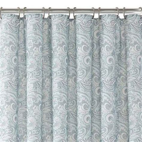 paisley shower curtain everything turquoise