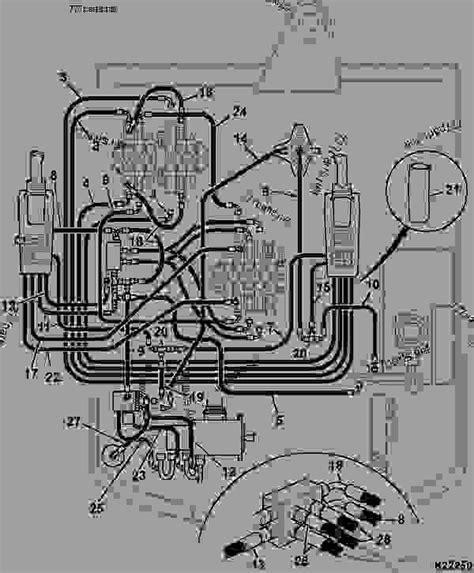 circuit servo hydraulic iso controls construction jcb  super mini excavator