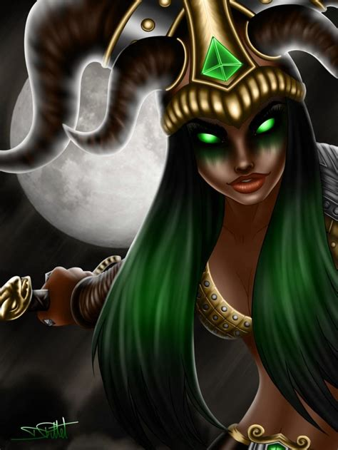 Smite Loki Female Version By A Nonyme On Deviantart