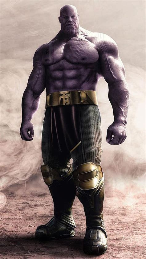 thanos muscles iphone wallpaper  wallpapers