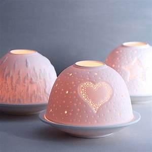 Luna, Porcelain, Tea, Light, Holder, By, Penelopetom