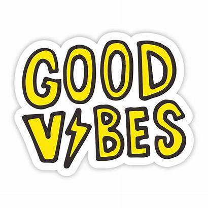 Vibes Sticker Bolt Stickers Arrivals Face