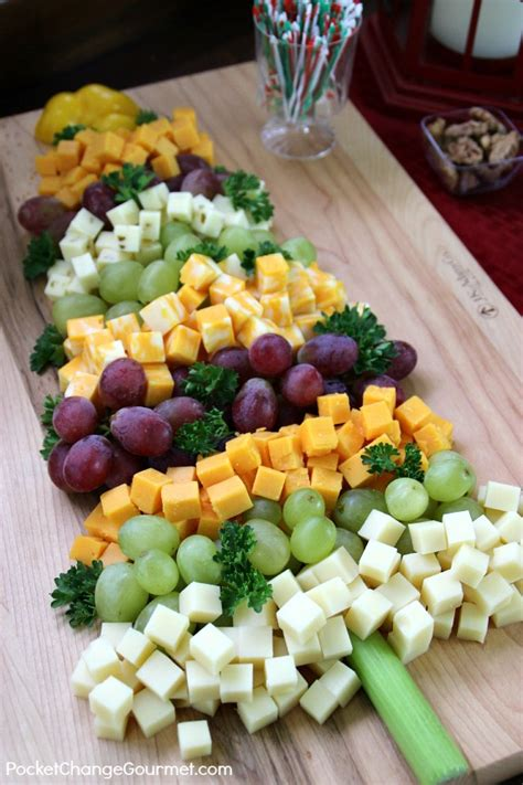 christmas appetizer tree board appetizers fruit and cheese tree recipe pocket change gourmet