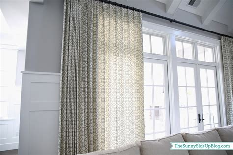 grey geometric pattern curtains family room drapes pillows the side up