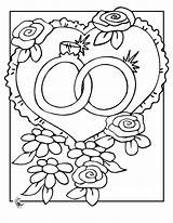 Coloring Printable Rings sketch template