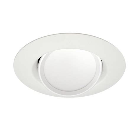 6 gimbal led recessed lighting sylvania 21317 ultra rt6 6 quot dimmable led recessed lighting