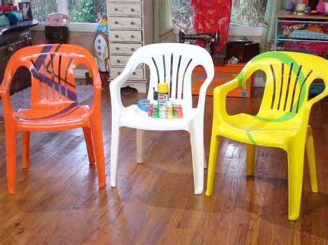 peindre chaise en bois painted patio furniture diy