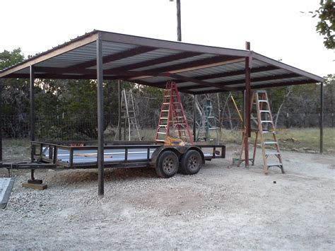 lean to carport gabled carport and lean to awning wimberly