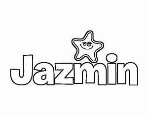 Dibujo de Jazmin para Colorear Dibujos net