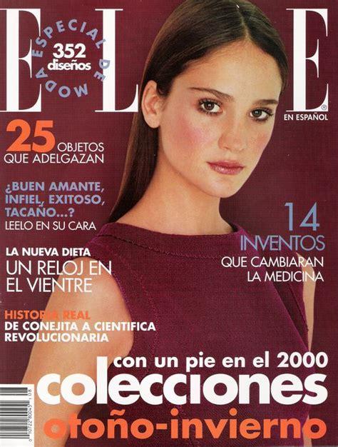 Ines Rivero ELLE EN ESPAÑOL Spain 1999 Magazine Cover