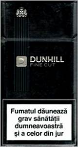 Buy Dunhill Fine Cut Black 100`s online for USA and Canada ...