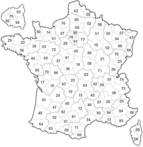 Carte De Par Département à Colorier by Carte De Par Departement A Colorier The Best Cart