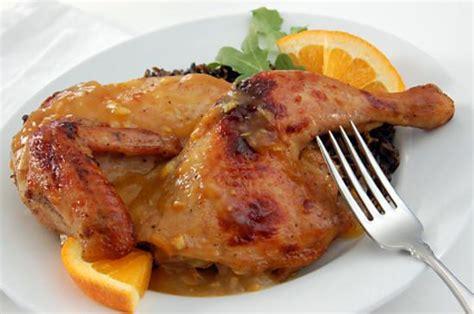 cuisine cuisse de poulet recette de cuisse de poulet nappage a l orange