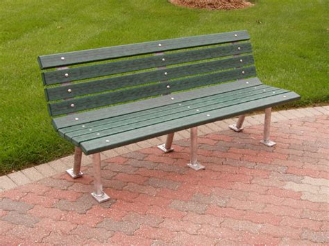 Heavyduty Recycled Park Bench  Recycled Park Benches