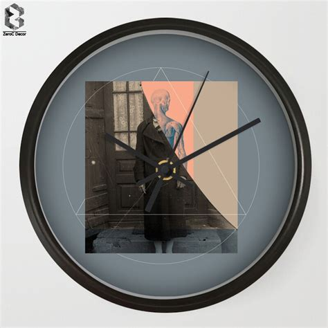 There are affiliate links in this post. Modern Art Wall Clocks Creative For Bedroom Wall Decor ...