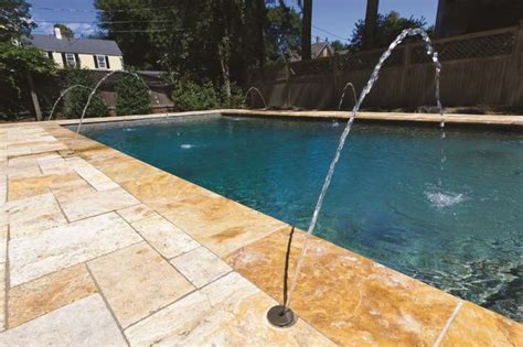 tiles and pavers can transform your pool deck