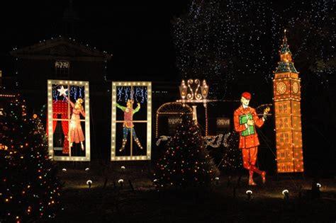 2009 holiday lighting display at ge lighting electrical