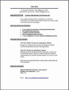 Objectives For Job Resumes Architecture Resume Occupational Examples Samples Free