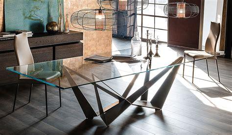 cattelan italia skorpio dining table glass