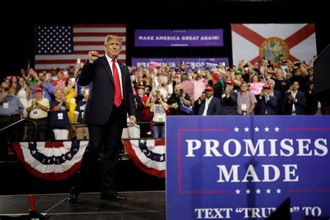 qanon  mainstream trumps rallies  turning