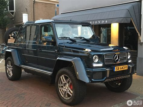 Read the review and see photos at car and driver. Mercedes-Maybach G 650 Landaulet W463 - 13 July 2018 - Autogespot