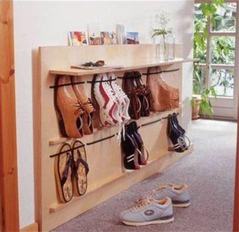 diy space saving hanging shoe rack  idea king