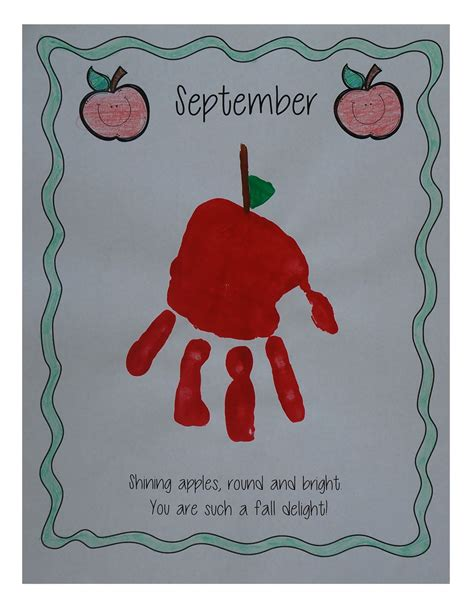 my handprint memory book day of a new school year 721 | 606dc414eb37bf4b939635c40f37a707