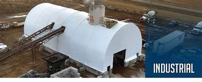 Industrial Building Fabric Buildings Temporary Structures Natural