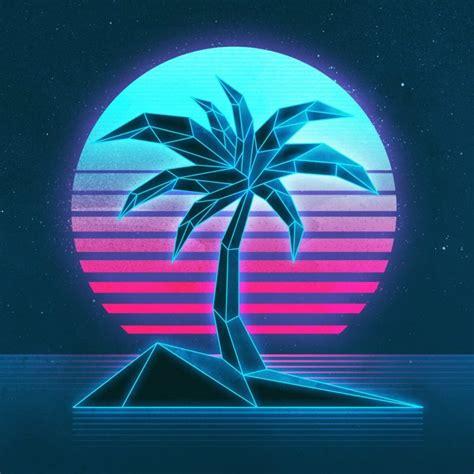 Vaporwave, 1980s, Texture, Neon Hd Wallpapers / Desktop