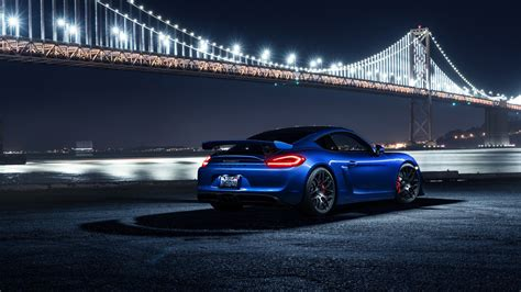 porsche cayman gt avant garde wheels  wallpaper hd car