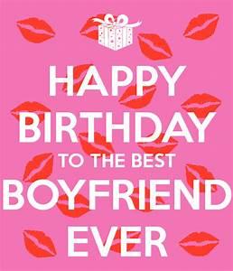 HAPPY BIRTHDAY TO THE BEST BOYFRIEND EVER Poster | Sabine ...