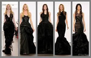Robe De Mariée Noire : mariage back to black osez la robe de mari e noire ~ Dallasstarsshop.com Idées de Décoration