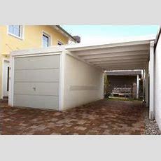Eine Perfekte Kombination  Garage Mit Carport Carport