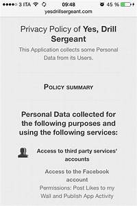 Privacy policy for apps guide templates for Mobile app privacy policy template