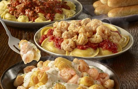 Show Me Olive Garden S Menu by Olive Garden Created A Never Ending Stuffed Pasta Menu