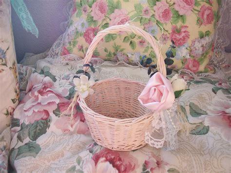 shabby chic baskets other shabby chic altered basket