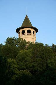 Prospect Park Witches Tower in Water